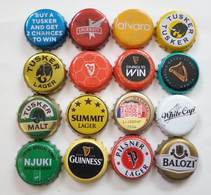 16 Beer Caps (USED) - Bière