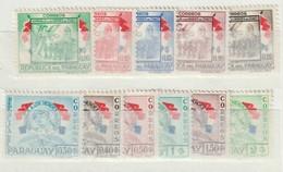 PARAGUAY - 1957 - Nrs. MI  759/770 Behalve 768 - Helden Van Chaco-oorlog -  Ongestempeld/New ** - Paraguay