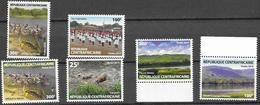CENTRAL AFRICAN REPUBLIC, CAR, 2019, MNH,DEFINITIVES, PIGS, RIVERS, MOUNTAINS, CHEERLEADERS, 6v - Other