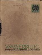 Catalogue Carrelage Carreaux Grès Cerame Mosaïque Céramique WASSERBILLIG Luxembourg - Publicités