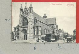 CARTOLINA VG BELGIO - BRUXELLES - L'Eglise Notre Dame - 9 X 14 - 1919 - Monumenti, Edifici