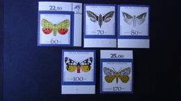 Germany - 1992 - Mi:DE 1602-6 Sn:DE B728-32 Yt:DE 1430-4**MNH - Look Scan - [7] Repubblica Federale