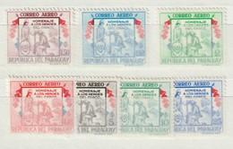 PARAGUAY - 1957 - Nrs. MI  777/783 Of Y&T: 231/237  - Helden Van Chaco-oorlog -  Ongestempeld/New ** - Paraguay