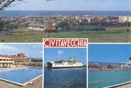 1735/A/FG/20 - CIVITAVECCHIA (ROMA) - Vedutine - Altri