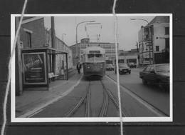 PHOTO  TRAM LIGNE 36 LA LOUVIERE BINCHE REPRO - Tramways