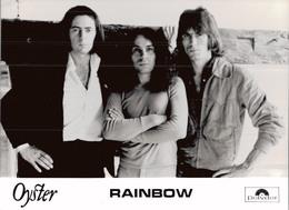 PHOTO PRESSE 18X24 / RAINBOW - GROUPE DE ROCK ENGLAND 1977 - Personalidades Famosas