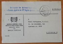 Portugal - COVER - Franchise / AVENÇA - Cancel: Beja (1977) - Direcção-Geral Dos Serviços Agrícolas (Estação Agrária) - Franchise