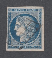 France - Timbres Oblitérés - Type Cérès - N°4a - Cote: 75 Euros - TB - 1849-1850 Cérès