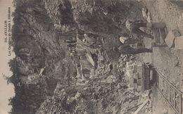 Avallon : Les Carrières De Granit à Méluzien - Avallon
