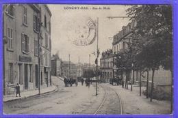 Carte Postale 54. Longwy Bas  Rue De Metz   Très Beau Plan - Longwy