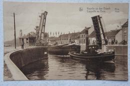 AK KAPELLE OP DEN BOS Naast Londerzeel Willebroek Brug Pont Péniche Avec Remorqueur Binnenscheepvaart Ecluse Sluis - Kapelle-op-den-Bos