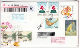 China: Bird, Pheasants, Mermaid, Monkey, Fine Used Cover - Gallinaceans & Pheasants