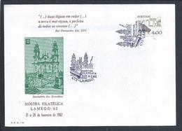 Obliteração Do Santuário De Nossa Senhora Dos Remédios, Lamego. Templo De Estilo Barroco E Rococó. - Lettere