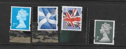 GB 17/03 - 4 Loose Definitives Ex JAMES BOND Prestige Book - 1952-.... (Elisabeth II.)