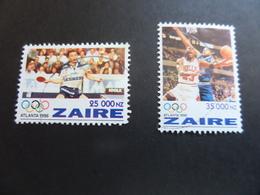 Jeux Olympiques D'Atlanta 1996 - Tennis De Table Et Basket - 1990-96: Oblitérés
