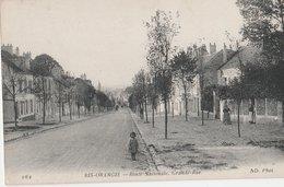 RIS-ORANGIS - Route Nationale, Grande-Rue. Petite Fille - Ris Orangis