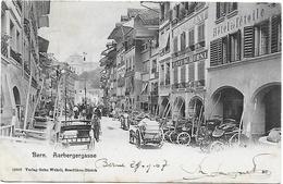 CPA  Bern Berne Aarbergergasse 1907 - BE Berne