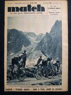 MATCH Intran #583 CYCLISME TOUR FRANCE Luchon Pau Bordeaux La Rochelle Berrendero Chocque Lapebie TENNIS Wimbledon 1937 - Sin Clasificación