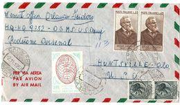 Busta Aerea Per USA - Redstone Arsenal ( 227 ) - 6. 1946-.. Repubblica