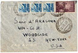 Busta Aerea Per USA -  ( 227 ) - 6. 1946-.. Repubblica