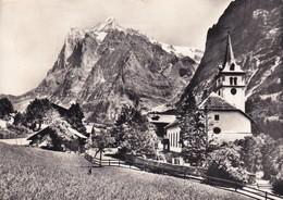 Suisse, Grindelwald, Wetterhorn - BE Berne