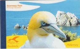 ALDERNEY   2006   PRESTIGE  BOOKLET   SEA BIRDS  SG ASB16  MNH - Alderney