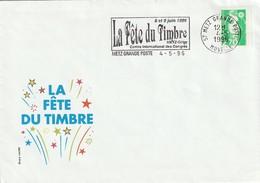 """Env. De """"Metz Grande Poste - 57, Moselle"""" Du 04-05-1996, """"La Fête Du Timbre, 8 Et 9 Juin 1996"""" Sur YT 3005 - Annullamenti Meccanici (pubblicitari)"""