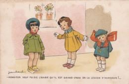"""Illustrateurs JeanCHEVAL """"Monsieur Veut Faire Croire Qu'il Est Grand Croix De La Légion D'honneur! """"(lot Pat 90/4) - Künstlerkarten"""