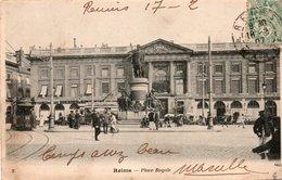 CPA REIMS - PLACE ROYALE - Reims