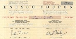 UNESCO COUPON . 10 DOLLARDS . 1956 - Monedas & Billetes