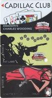 Lot De 3 Cartes : Cadillac Jack's Casino Gaming Resort : Deadwood SD - Cartes De Casino