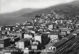 Italie Ventimiglia Panorama Da Levante (2 Scans) - Imperia