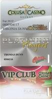 Lot De 3 Cartes : Colusa Casino Resort - Cartes De Casino