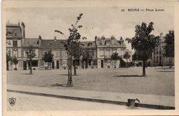 CPA REIMS - PLACE LUTON - Reims