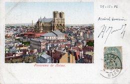 CPA REIMS - PANORAMA - Reims