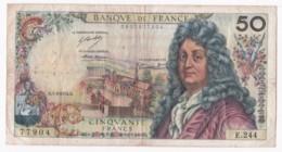 Billet 50 Francs Racine Du 7 – 2 - 1974. Alph. E.244 N° 77904. - 1962-1997 ''Francs''