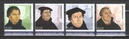 St Maarten 2017 MNH Set MAARTEN LUTHER - Theologen