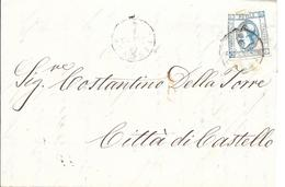 Lettre Pour Citta De Castello. (Voir Commentaires) - Marcophilia