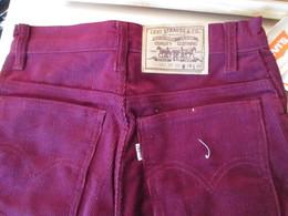 COLLECTOR Jean's LEVI'S 631 Années 80 Et Neuf ! HOMME OU FEMME ? Supercord Velours Côtelé Tailles US W28 L36 - Vintage Clothes & Linen