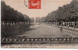 CPA REIMS - ALLEE PRINCIPALE DES MARRONNIERS - Reims