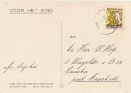 """Nederland - 1932 - 1,5 Cent Kinderzegel Op """"Voor Het Kind""""-kaart Van Enschede Naar Lonneker - Periode 1891-1948 (Wilhelmina)"""
