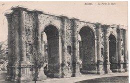 CPA REIMS - LA PORTE MARS - Reims