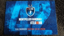 CPM CALENDRIER DES MATCHS HANBALL SAISON 2119 2020 MONTPELLIER TEAMMHB - Balonmano