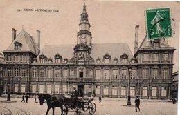 CPA REIMS - L'HOTEL DE VILLE - Reims