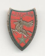 INSIGNE 22° RSM : 22° Régiment De Spahis Marocains Drago Paris G. 452 Restauration à L'arriére Voir Scan - Armée De Terre