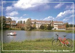 """S. Photo Cpsm Cpm 52 BOURBONNE LES BAINS. Hôtel Restaurant """" La Mazelle """" - Bourbonne Les Bains"""