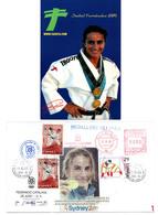 JUDO Isabel FERNANDEZ Championne Olympique - Judo