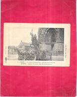 REIMS - 51 -  La Statue De Jeanne D'Arc Après Les Bombardements -  - VIS - - Reims