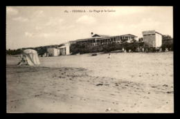 MAROC - FEDHALA - LA PLAGE ET LE CASINO - Morocco