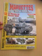 AVICOV Revue De Maquettisme Plastique MAQUETTES MILITAIRES N°52 De 2007/08 , Valait 6.20 €; Sommaire En Photo 3 - Revues